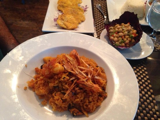 MoriVivi: Sea food rice...  Chefs daily special