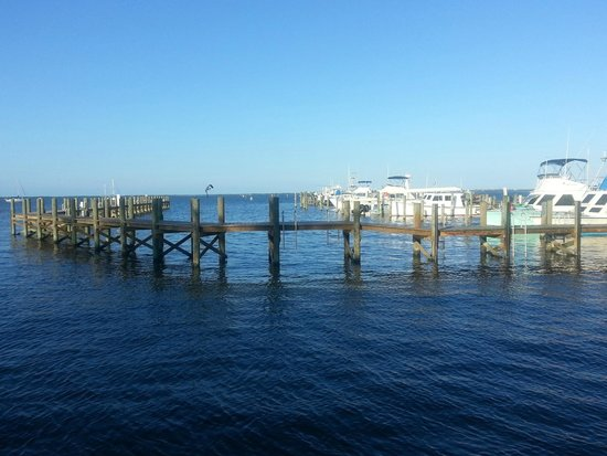 Capt Hiram's Resort : vue du restaurant