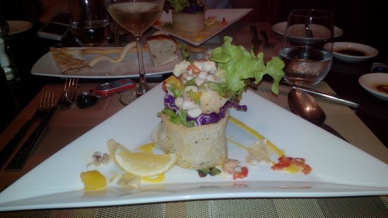 Prego Italian Restaurant : antipasto di aragosta
