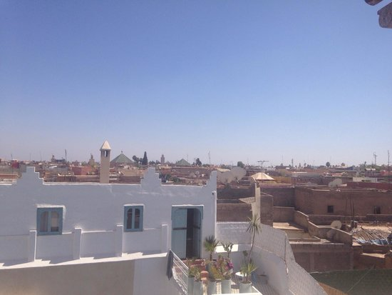 Hotel & Spa Riad Edward : View from the riad