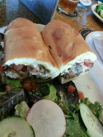 Hollister Brewing Company: Tri-Tip Sandwich