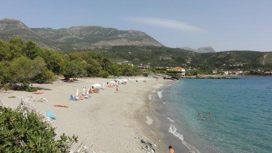 Litsa Apartments: Pantanzi beach - nearest beach