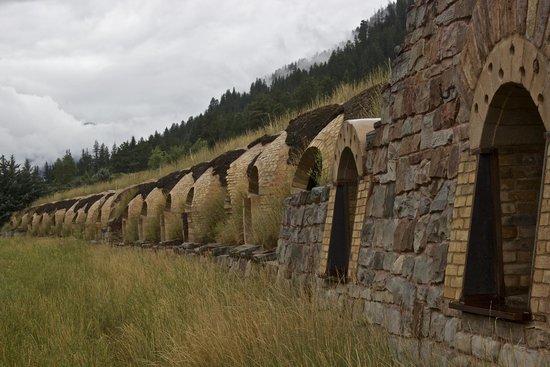 The Redstone Inn: Remnants of coke ovens