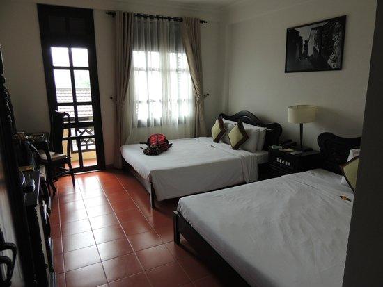 Phu Thinh Boutique Resort & Spa: Chambre 1er étage face à la rue