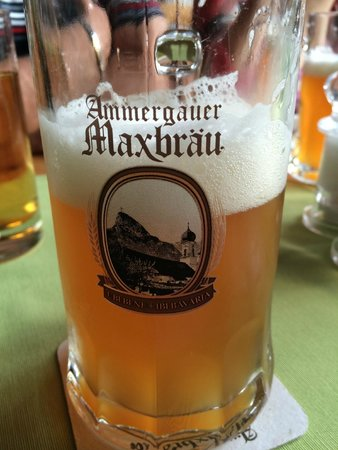 Hotel Maximilian: das hervorragend selbstgebraute Bier