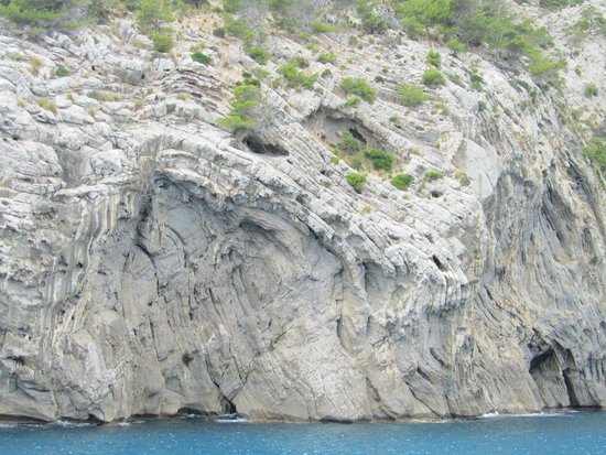 Premier Cruises: Cliff face