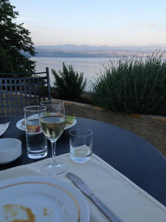 Smart Selection Hotel Bristol: Dinner on the patio was lovely