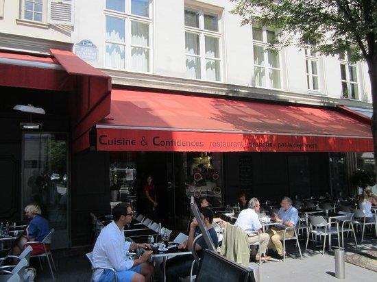 The Terrace Picture Of Cuisine Et Confidences Paris Tripadvisor