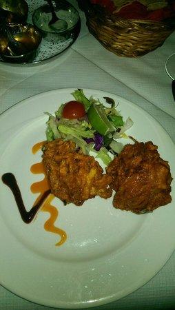 Diwali Indian & Nepalese Restaurant: Onion bhajee
