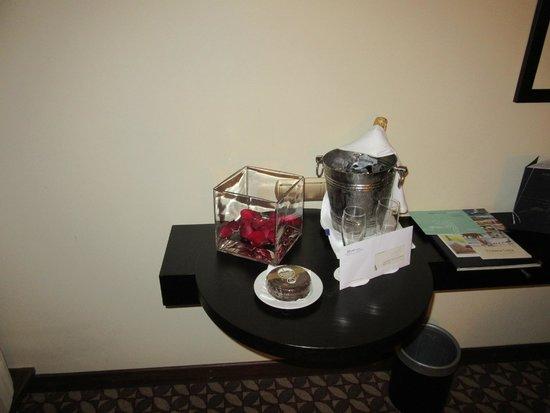 Pestana Casino Park Hotel : Rececção especial aos noivos