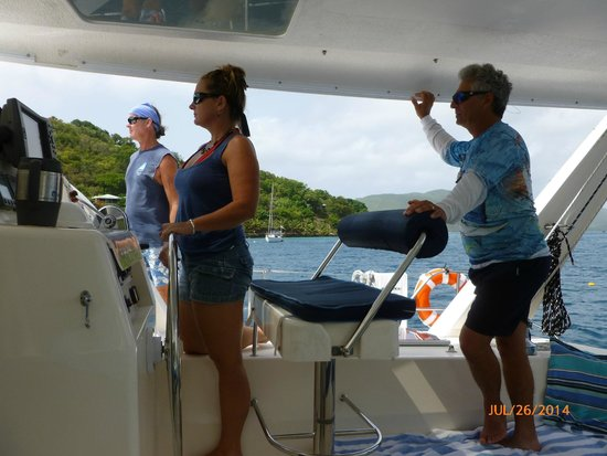 Singing Dog Sailing: we miss the Captains