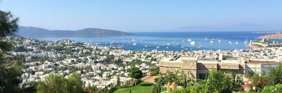 The Marmara, Bodrum : View from the pool - stunning