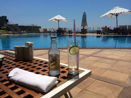 The Marmara, Bodrum : Waiting for lunch