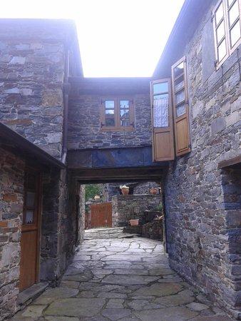 As Veigas: Casa de la aldea