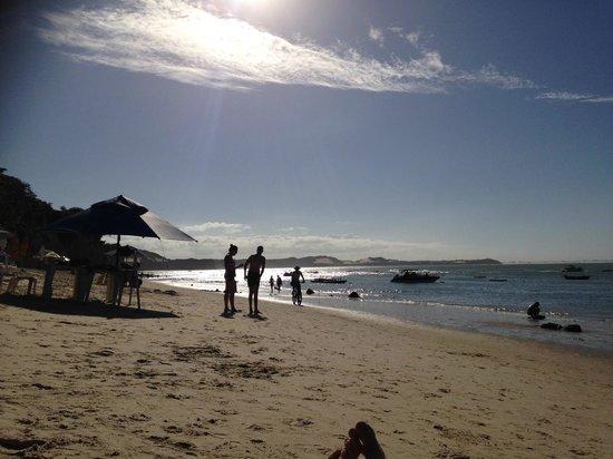 Pipa Beach: Tarde maré baixa