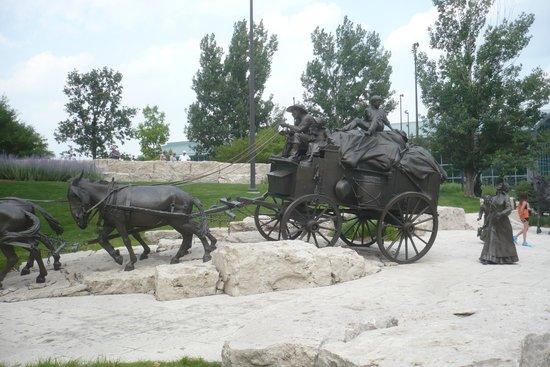 First National's Spirit of Nebraska's Wilderness and Pioneer Courage Park: Wagon Train