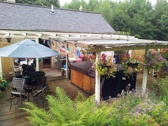 Enoch Lodge: Beautiful patio
