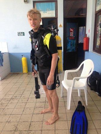 Paradisus Rio de Oro Resort & Spa: Scuba diving trip (FREE on all inclusive!)