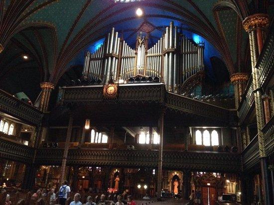 Basilique Notre-Dame de Montréal : Organ