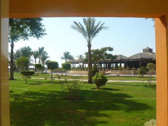 Caribbean World Resorts Soma Bay: kilátás a szobánkból