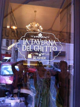 La Taverna del Ghetto : Esterno