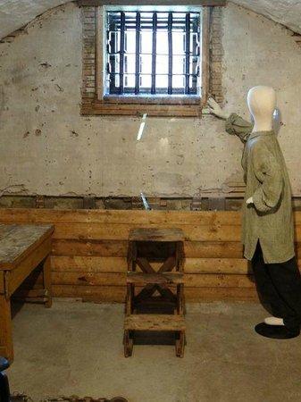 Albert County Museum: Gaol cell