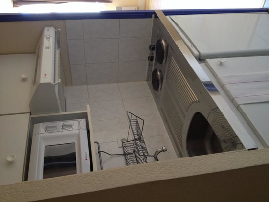 Residence Les Cordeliers: Кухонный уголок