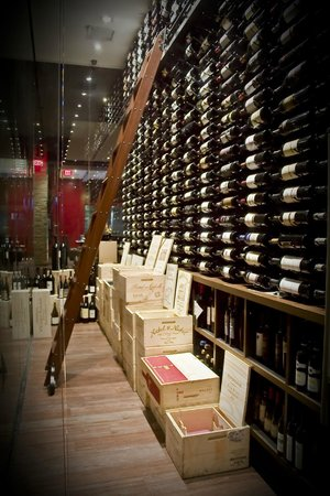 Red, The Steakhouse: Wine Room Boosting of Over 500 Bottle From Around The World