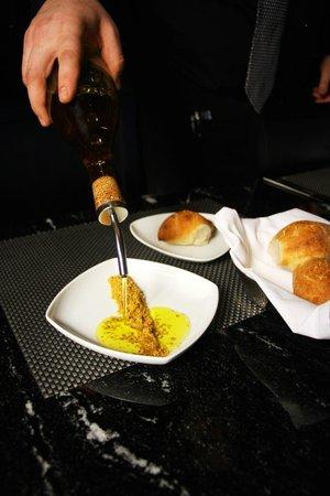 Red, The Steakhouse: Homemade Epi Bread