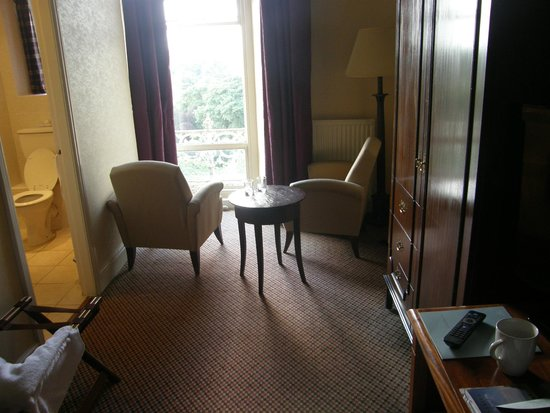The Palace Hotel: Room toward window