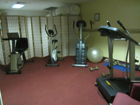 Camden Riverhouse Hotel and Inns: Fitness center