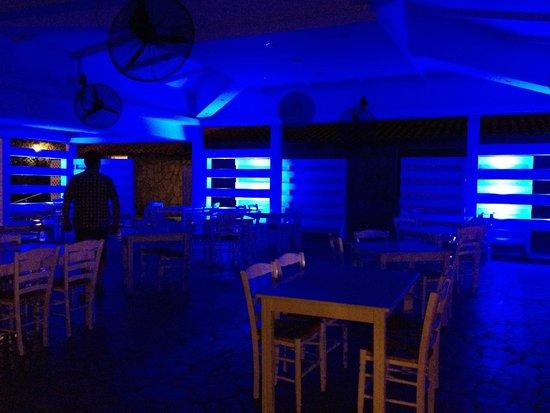 Atlantica Bay Hotel: Beach Tavern - at night