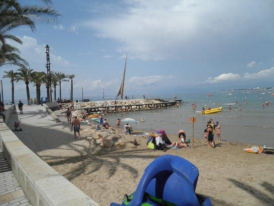Inter2Salou : The beach