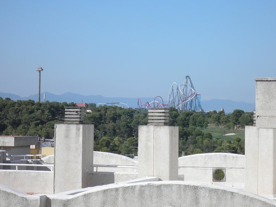 Inter2Salou : The view of potaventura from our room