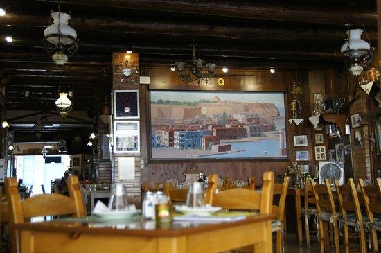 Taverna Othonas: Интерьер