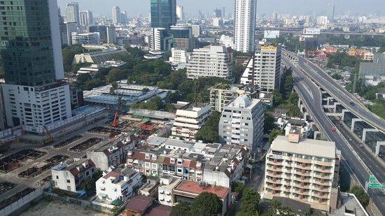 Novotel Bangkok Ploenchit Sukhumvit : room view
