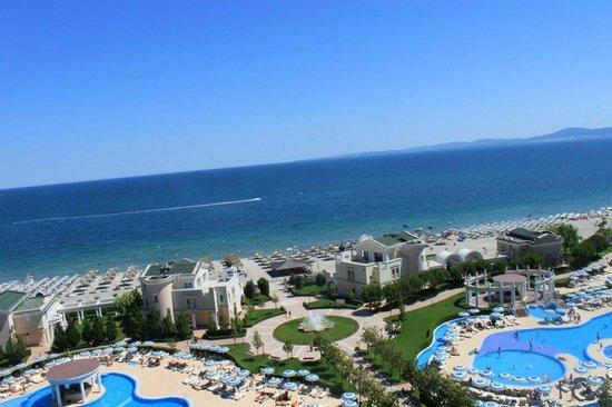 Sunset Resort: widok z 9 piętra