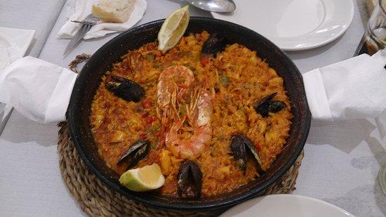 Restaurante Camino De Santiago: Pedazo de paella