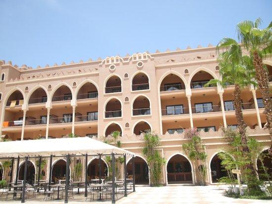 The Makadi Palace Hotel: les chambres