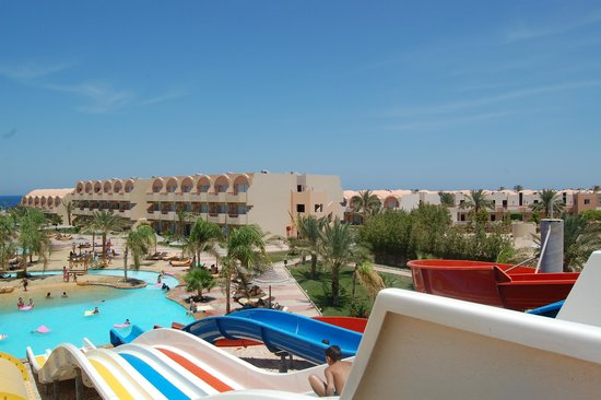 The Three Corners Sea Beach Resort : aquapark