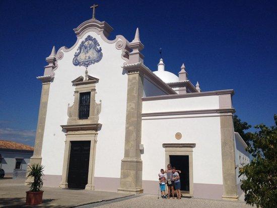 Church of Sao Lourenco de Almancil: L'église : igreja da  Sao Lourenço