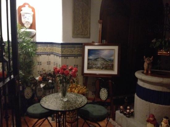 Hotel El Relicario del Carmen : nicely decorated