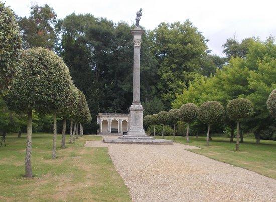 Wilton House: a more formal part of the garden