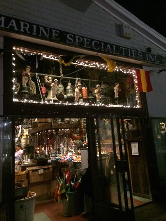 Marine Specialties: Outside View
