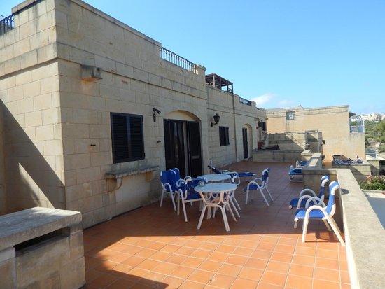 Cornucopia Hotel: Bungalow 10's terrace