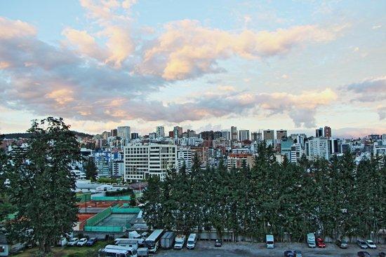 JW Marriott Hotel Quito : Blick vom Zimmer