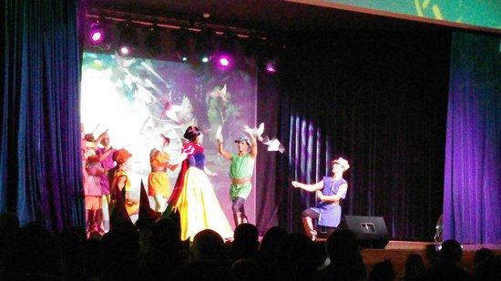 Valentin Sancti Petri Hotel Chiclana: Disney magic show