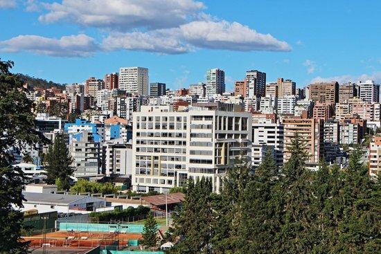 JW Marriott Hotel Quito: Blick vom Zimmer