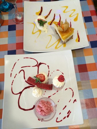 TJ's Restaurant : Deliciously delightful desert...
