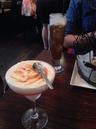 The Alchemist: Passion Fruit Meringue Martini - lovely!